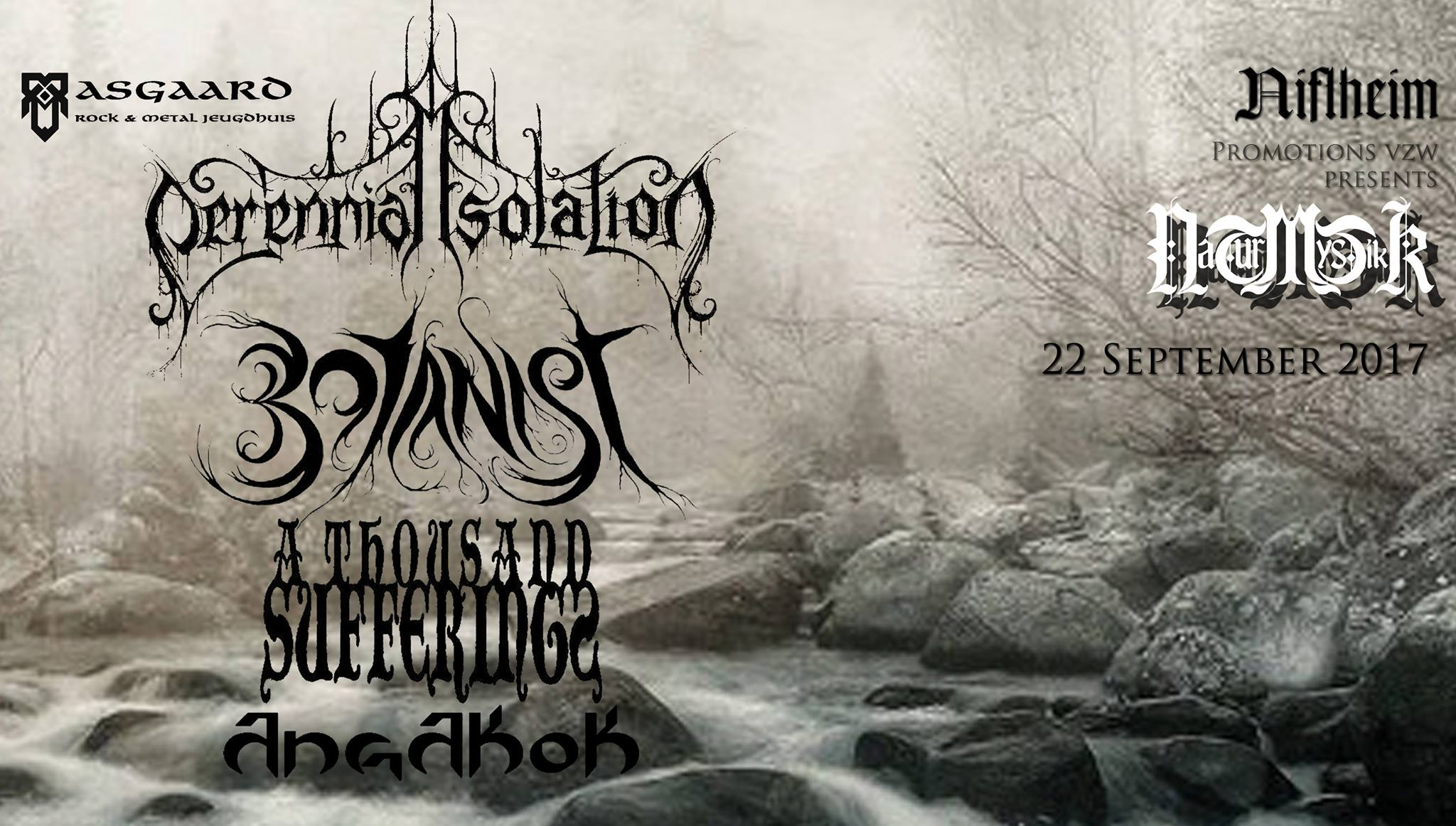 Naturmystikk w/ Botanist – Perennial Isolation – A Thousand Sufferings – Angakok